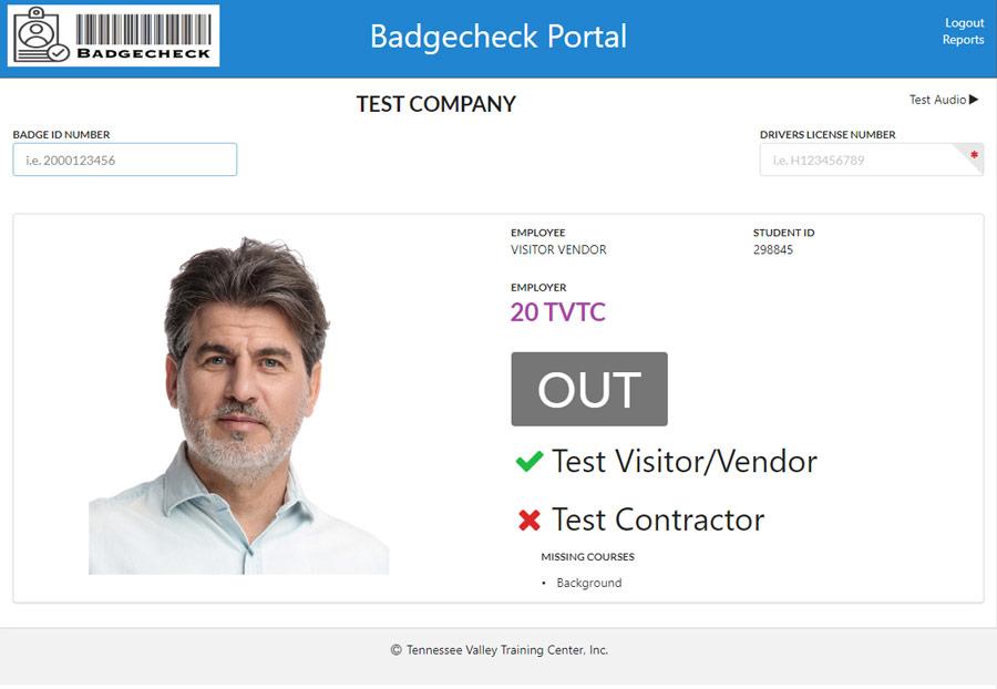 TVTC Badgecheck Portal