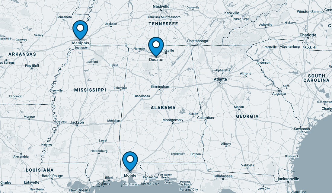TVTC locations map