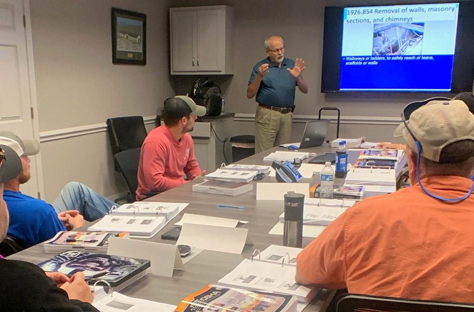 TVTC classroom training